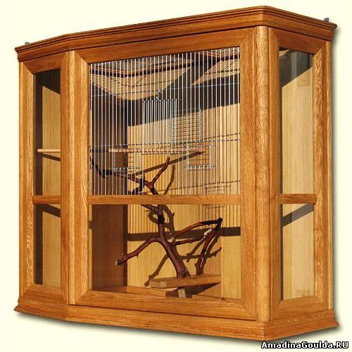 Клетка для певчих птиц своими руками чертежи и фото бесплатно